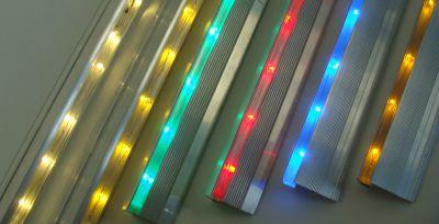 treppenstufenbeleuchtung treppenprofile led ketten led treppenlicht leuchtschnur lichtband. Black Bedroom Furniture Sets. Home Design Ideas