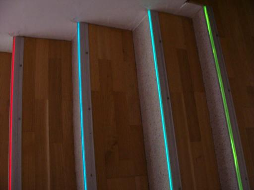 Treppenstufenbeleuchtung Treppenprofile LED Ketten LED